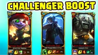 PowerOfEvil DuoQ Noway4u ft FNC Rekkles Turbo Boost | Challenger Gameplay (Deutsch/German) LoL