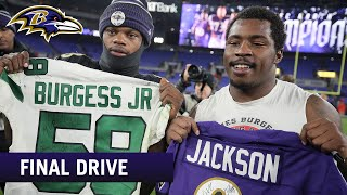 Jets Players Lined Up for Lamar Jackson's Jersey Swap  | Ravens Final Drive