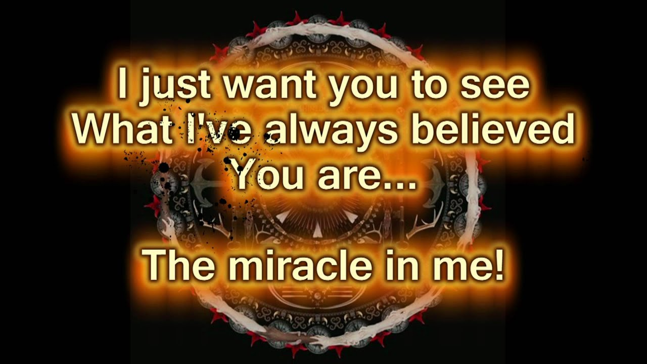 Shinedown Lyrics Wallpaper Shinedown Miracle Lyric