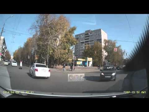 Авария в Екатеринбурге 28 09 2014