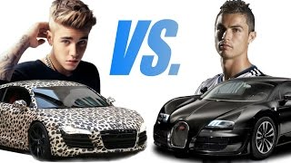 Download Song Justin Bieber vs. Cristiano Ronaldo Cars Collection Free StafaMp3