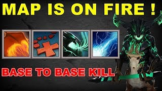 Base to Base Funniest Abuse Combo| Dota 2 Ability Draft