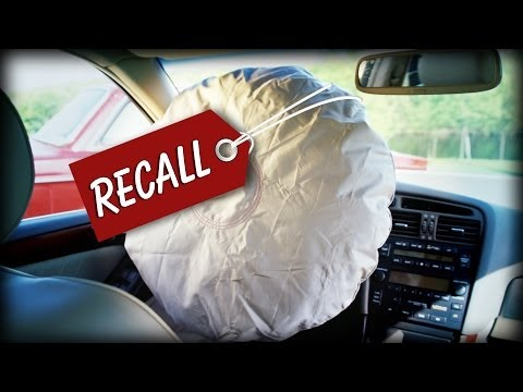 Automakers recall 14 million cars for exploding airbags