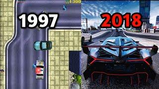 Evolution Of Grand theft auto GTA 1997 - 2019