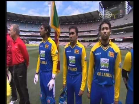 Sri Lankan National Anthem At The Mcg (australia) video
