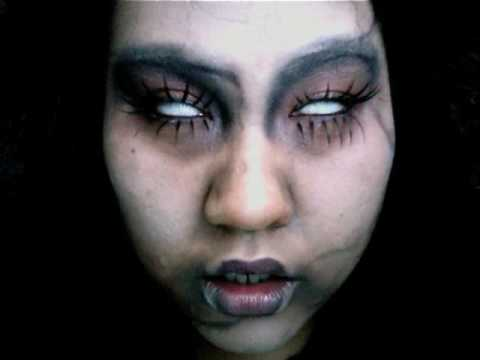 goth doll makeup. Halloween Makeup: Gothic Victorian Doll (pls watch in HQ)