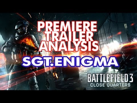 Battlefield 3 | Close Quarter Combat DLC | Trailer Analysis Image 1