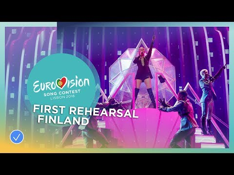 Saara Aalto - Monsters - First Rehearsal - Finland - Eurovision 2018