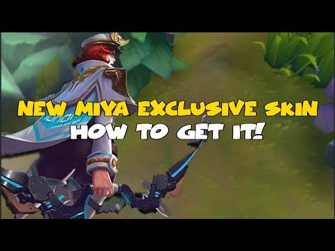 HOW TO GET THE NEW MIYA EXCLUSIVE SKIN (MOBILE LEGENDS)