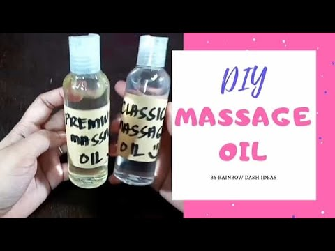 DIY How to Make Massage Oil Classic and Premium Massage Oil - YouTube
