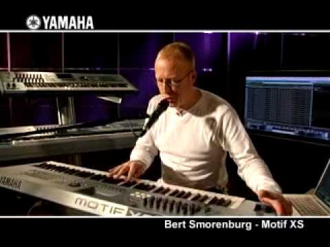 Bert Smorenburg and the Yamaha MOTIF XS