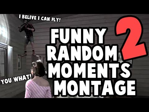Friday the 13th funny random moments montage 2
