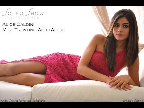 Alice Caldini,Miss Trentino Alto Adige 2013,Finalista a Miss Italia 2013 a Jesolo.HD 1080p