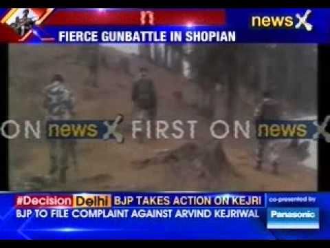 #ShopianEncounter: JeM militants trapped by Indian army in Jammu and Kashmir