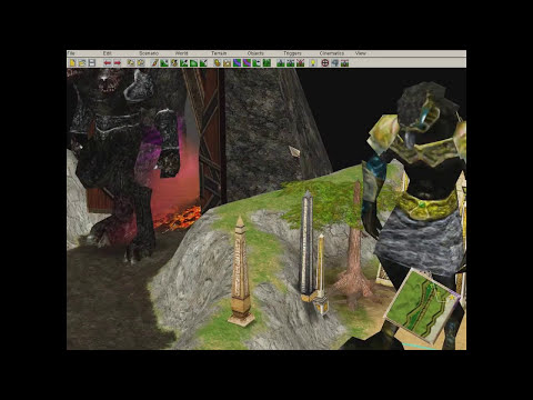Age of Mythology The Titans Epic Textures for Gaia, Cerberus and Egipcian Titan  PREVIEW