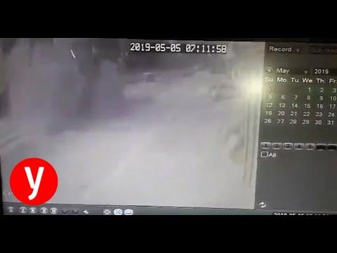 צפו: פגיעה של חיל האוויר ברוכב אופנוע באזור אל-פאלוג׳א, צפון רצועת עזה