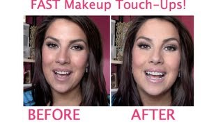 FAST Makeup Touch-up Routine!