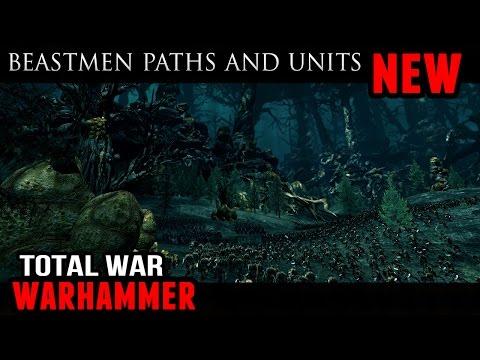 Total War: Warhammer - Beastmen Beast Paths (Gameplay and Analysis)