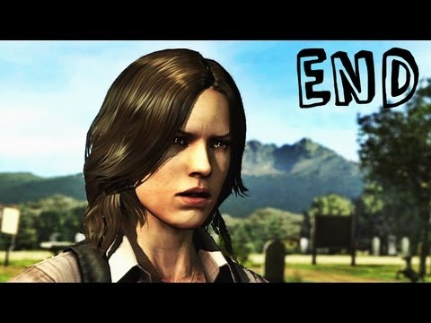 Resident Evil 6 - Leon / Helena Campaign Ending - Gameplay Walkthrough Part 27 (RE6)