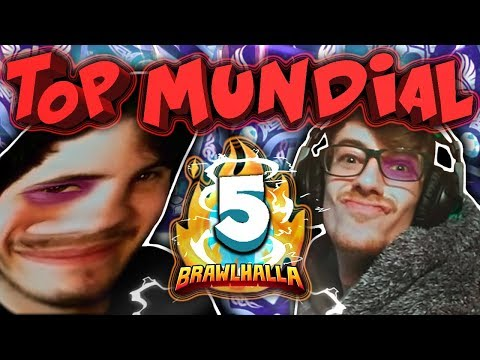 VUELTA AL TOP MUNDIAL 2VS2 | LA VUELTA DEL NIÑO GLUTEN | #5 | Brawlhalla Español
