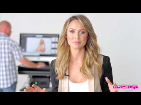 Stacy Keibler Talks Beauty at Her NewBeauty Cover Shoot | Behind-the-Scenes