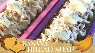 Making Of Banana & Oats Cold Process Soap with Fresh Banana Purée | 🍌 GYPSYFAE CREATIONS