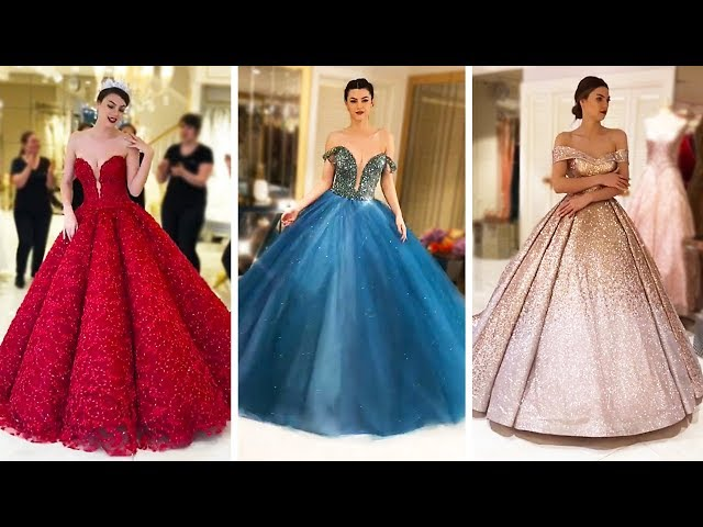 BEST GLAMOROUS DRESS COMPILATION