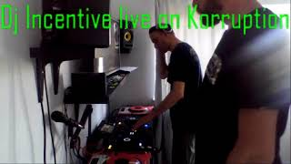Dj Incentive and Scotty M Playing 2hrs of Hardhouse Mayhem