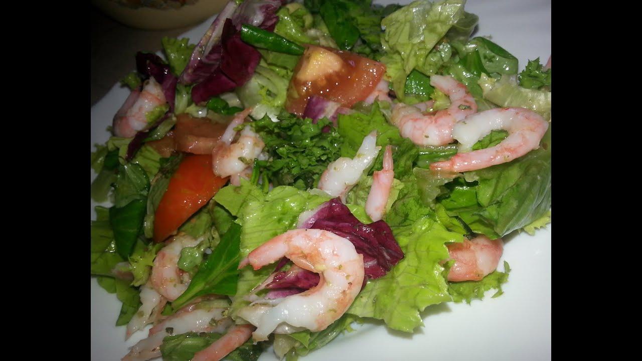 Вкусные рецепты салатов с креветками простые и вкусные