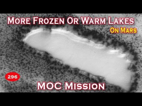 Water On Mars: Another Frozen Or Warm Lake Imaged On Surface!