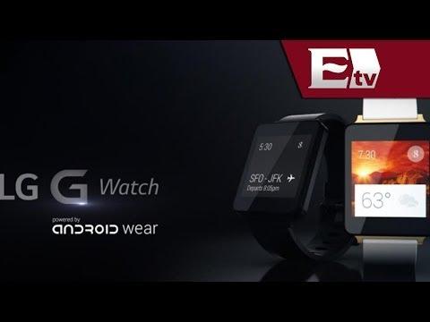 Ya está a la venta en México el reloj inteligente de LG, G Watch/ Hacker
