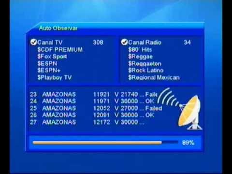az america s806 e s810b atualização reset por cabo serial 021. 7860