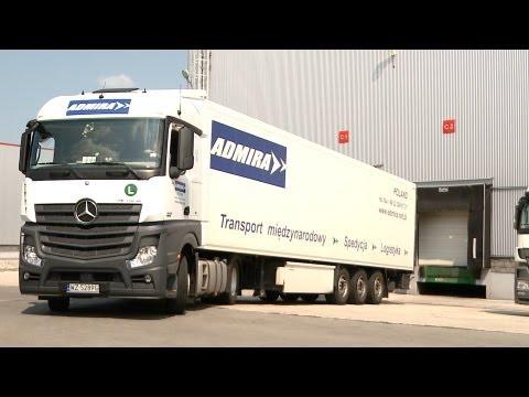 Admira - Transport Międzynarodowy, Spedycja. Warszawa.  Usługi Transportowe, Przeprowadzki.