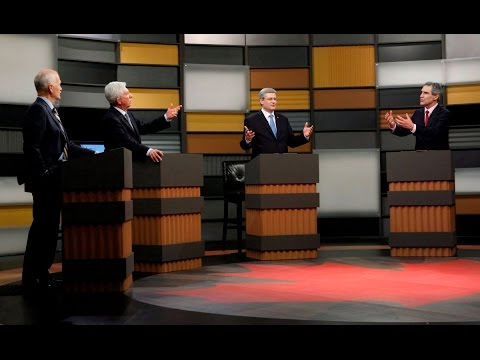 2011 Federal Leaders Debate (Full HD Video)