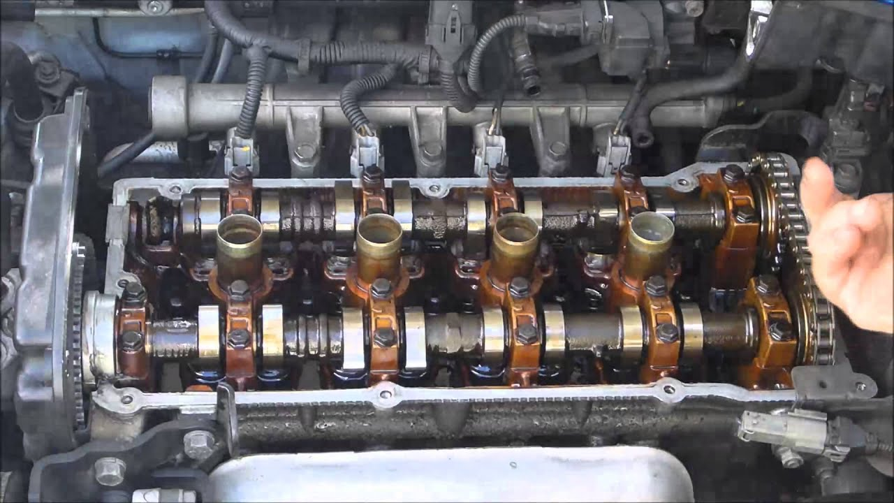 Hyundai valve cover gasket youtube