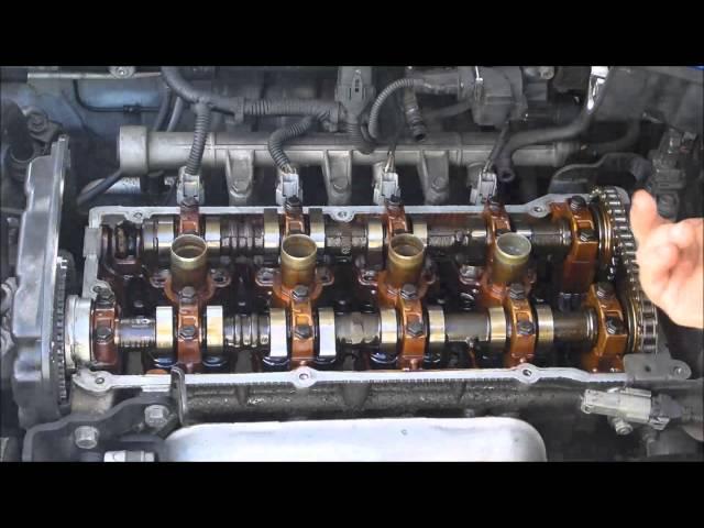 Hyundai valve cover gasket - YouTube