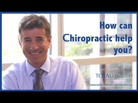 Singapore Chiropractor - Total Health Chiropractic - Dr. Tim Errington