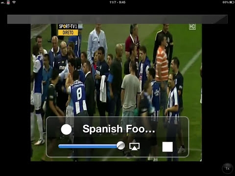 How to watch live sport using sopcast on an iPhone/iPad/iPod touch