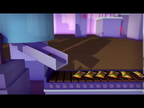 Cheetos assado | Conheça a fábrica de Cheetos