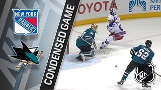 01/25/18 Condensed Game: Rangers @ Sharks
