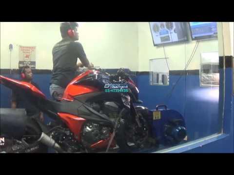 Kawasaki Z800 Bazzaz ZFi Dyno Tuning & QS - Motodynamics Technology Malaysia