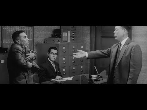 The Bad Sleep Well (1960) - The Geometry of a Scene