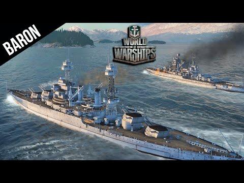 World of Warships - Shrimp n Gritz, The South Carolina NEW US American Battleship