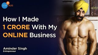 Starting A Business Without Investment | Aminder Singh | Josh Talks
