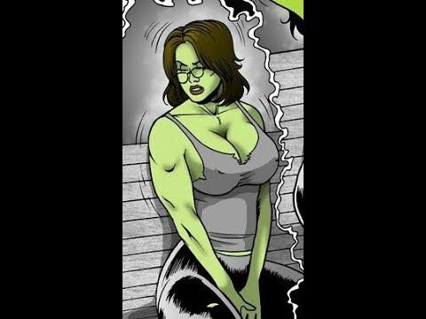 All She Hulk Transformations II