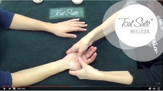 Sencillo masaje de manos, para manicura | Hand massage for manicure