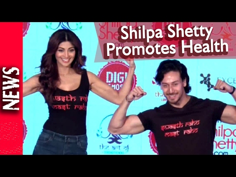 Latest Bollywood News - Shilpa Launches Wellness Series - Bollywood Gossip 2016