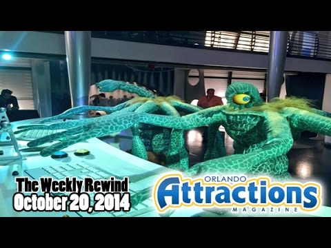The Weekly Rewind @Attractions Oct. 20, 2014 - Hollywood Studios Sorcerer's Hat, Spooky Empire
