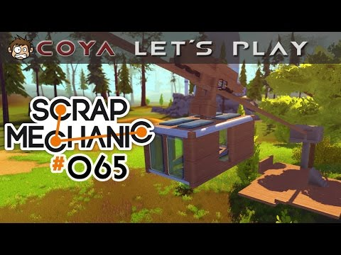 Scrap Mechanic #065 • Die rasende Gondel • Scrap Mechanic German Gameplay Deutsch