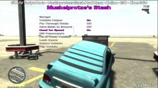 GTA IV: Muskleprotze's Stash Mod Menu - Online - ISO - Xbox 360